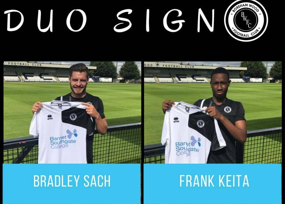 SACH AND KEITA SIGN PRO CONTRACTS