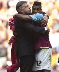 'COME ON YOU IRONS'
