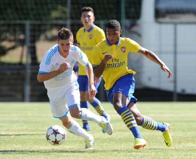 ARSENAL U19'S TO PLAY CHAMPIONS LEAGUE TIES AT MEADOW PARK AND ITS FREE!!