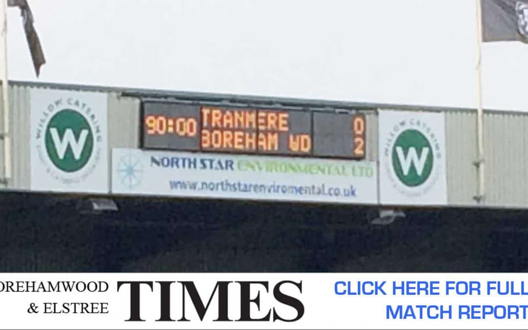 MATCH REPORT: TRANMERE ROVERS VS BOREHAM WOOD