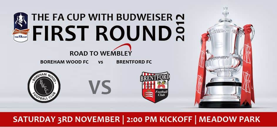 FA CUP – CHANGE OF KICK OFF TIME