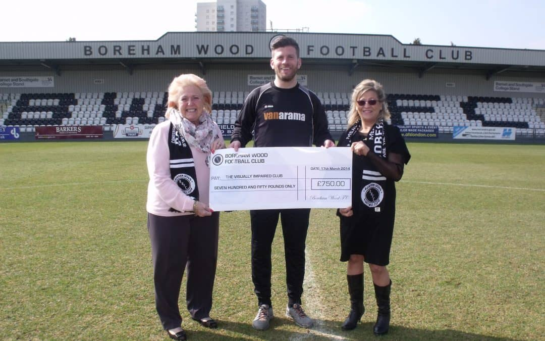 BWFC PLAYERS AND STAFF MAKE CHEQUE PRESENTATION TO LOCAL CHARITY