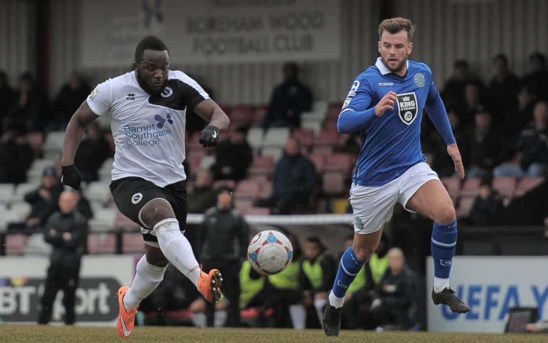MATCH REPORT: BOREHAM WOOD VS MACCLESFIELD TOWN