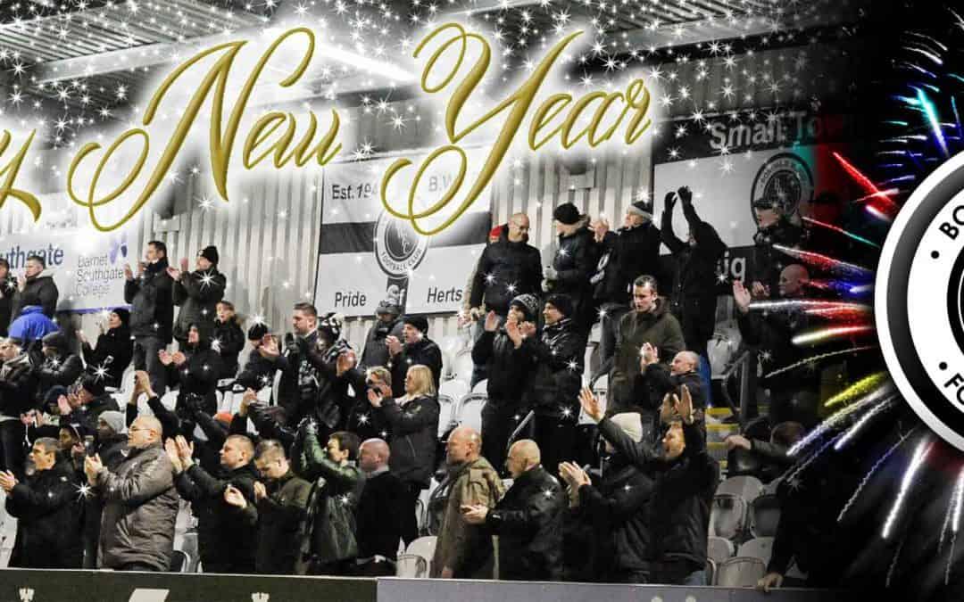 HAPPY NEW YEAR AND KEEP THE FAITH