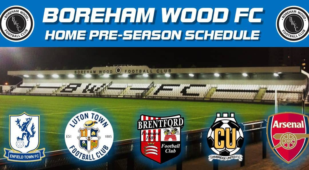 FIRST PRE-SEASON FRIENDLY FIXTURES ANNOUNCED