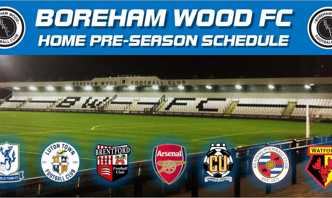 BUSY SUMMER PLANNED AT 'THE WOOD' – NEW FIXTURES AND AMENDED DATES