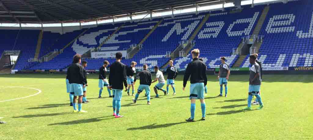 U16s FACED ROYALS AT THE MADEJSKI