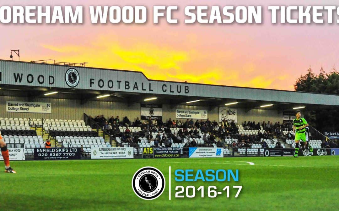 SEASON TICKETS ARE NOW ON SALE