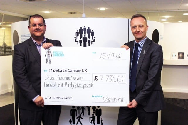 Thumbs up for Non League Day's success as Vanarama donates thousands to Prostate Cancer UK
