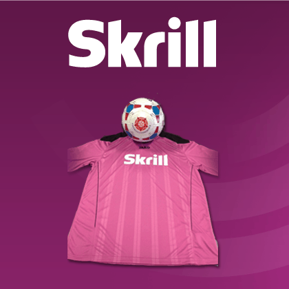 WIN A SKRILL SEASON TICKET TO YOUR CLUB