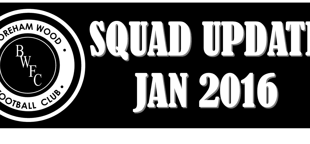 JANUARY TRANSFER WINDOW AND SQUAD UPDATE