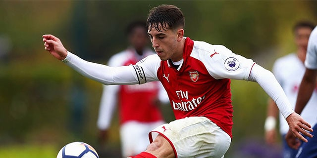 ARSENAL U23S IN ACTION AT MEADOW PARK