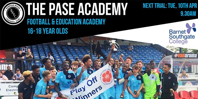 THE PASE ACADEMY IS RECRUITING AGAIN!