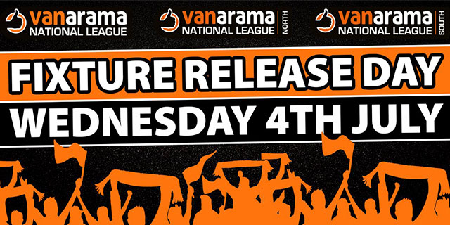 FIXTURE RELEASE DAY CONFIRMED
