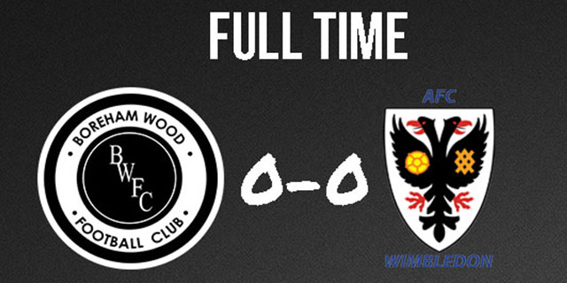 BOREHAM WOOD DRAW WITH DONS