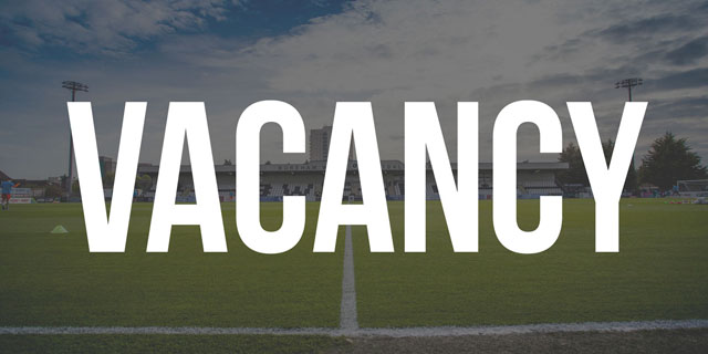 JOB VACANCY: MEDIA AND COMMUNICATIONS MANAGER