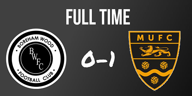 WOOD DEFEATED BY REJUVENATED MAIDSTONE UNITED
