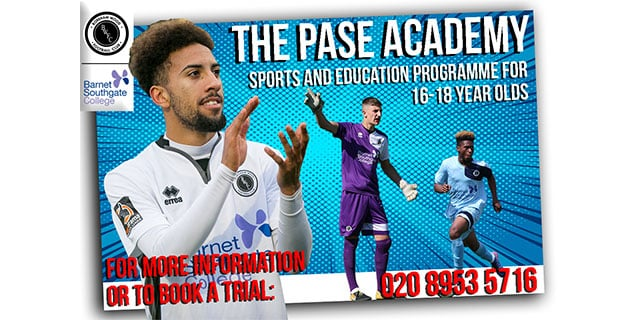 BW PASE ACADEMY TRIALS ANNOUNCED