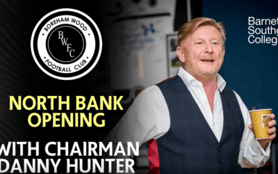 NORTH BANK OPENING CEREMONY WITH SPEECH FROM CHAIRMAN DANNY HUNTER