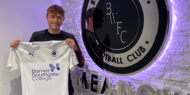 ACADEMY PLAYER OF THE MONTH FOR OCTOBER – ETHAN TUTTLE