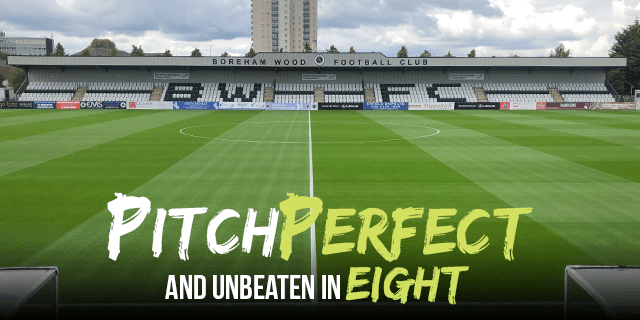 PITCH PERFECT AND UNBEATEN IN EIGHT