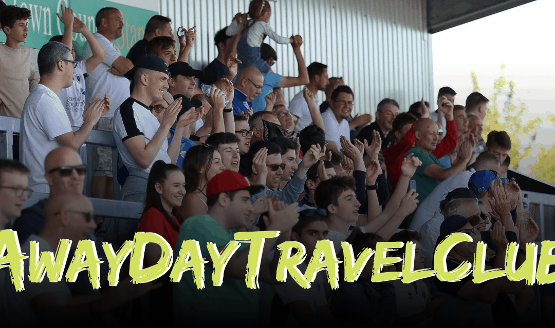 AWAY DAY TRAVEL CLUB TO ALDERSHOT TOWN – JUST FOUR SPACES REMAIN