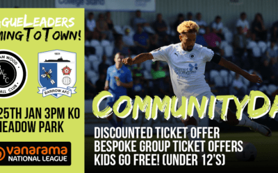 TICKET OFFERS – LEAGUE LEADERS COMING TO TOWN