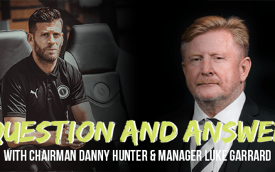 Q&A with Chairman and Manager