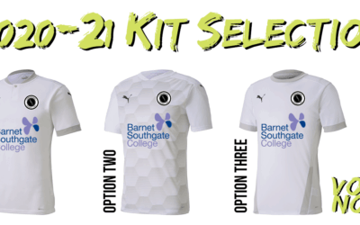 2020-21 KIT SELECTION – HAVE YOUR SAY!