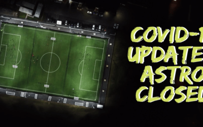 COVID-19: ASTRO PITCH CLOSED