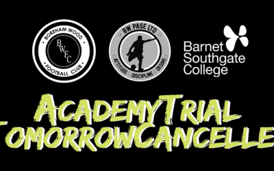 COVID-19: ACADEMY TRIAL TOMORROW CANCELLED