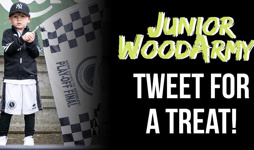 JUNIOR WOOD ARMY – TWEET FOR A TREAT!