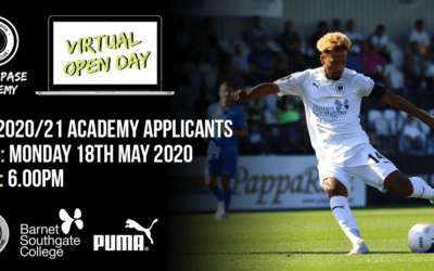 LIVE – BW PASE ACADEMY VIRTUAL OPEN DAY