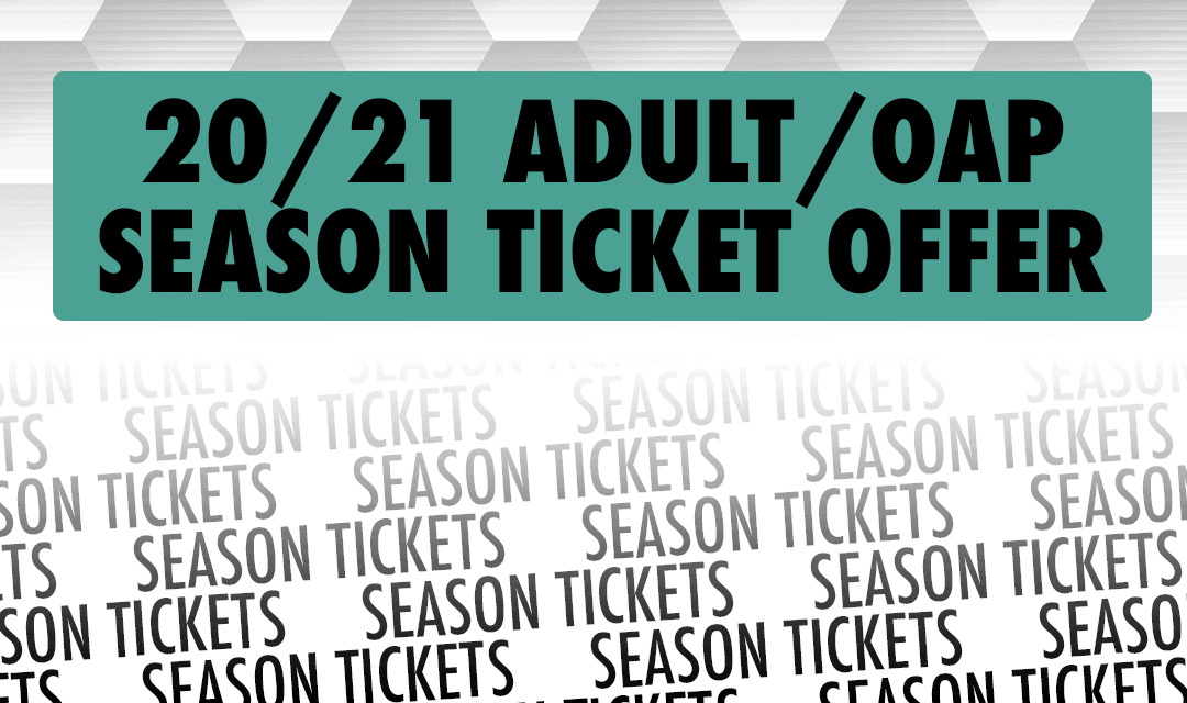 HURRY, HURRY, HURRY JUST 500SEASON TICKETS ON SALE NOW!