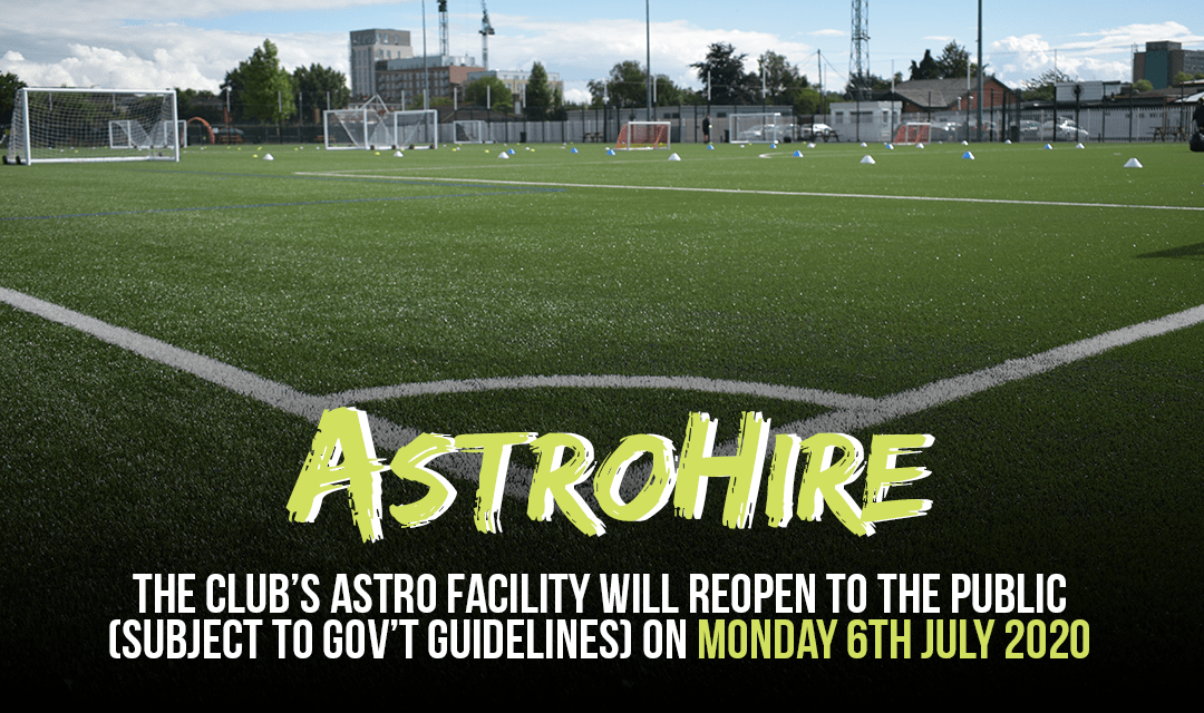 ASTRO FACILITY TOPARTIALLY OPEN ON JULY 6TH