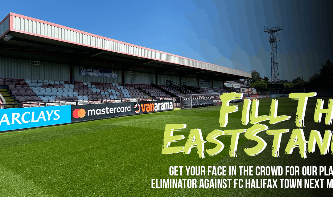 FILL THE EAST STAND