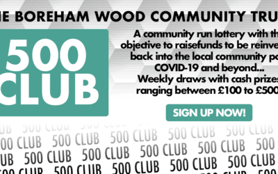 COMMUNITY FUNDRAISING – '500 CLUB'
