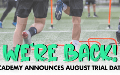 WE'RE BACK! ACADEMY ANNOUNCES AUGUST TRIAL DATES