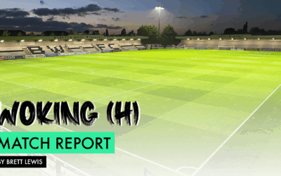 MATCH REPORT – WOKING (H)
