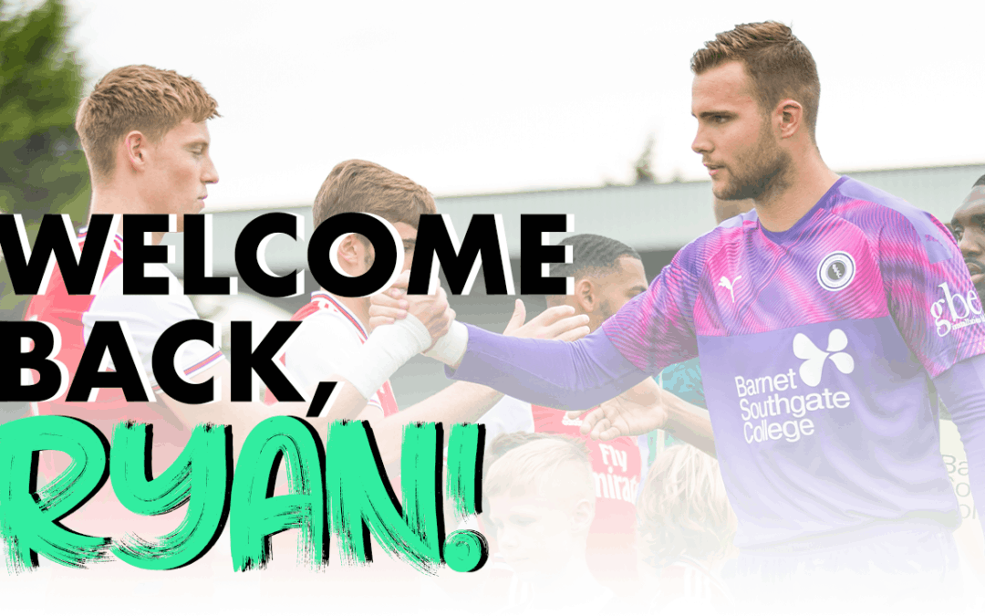 WELCOME BACK, RYAN!