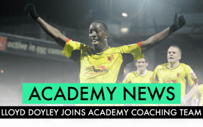 WATFORD LEGEND LLOYD DOYLEY JOINS BW PASE ACADEMY