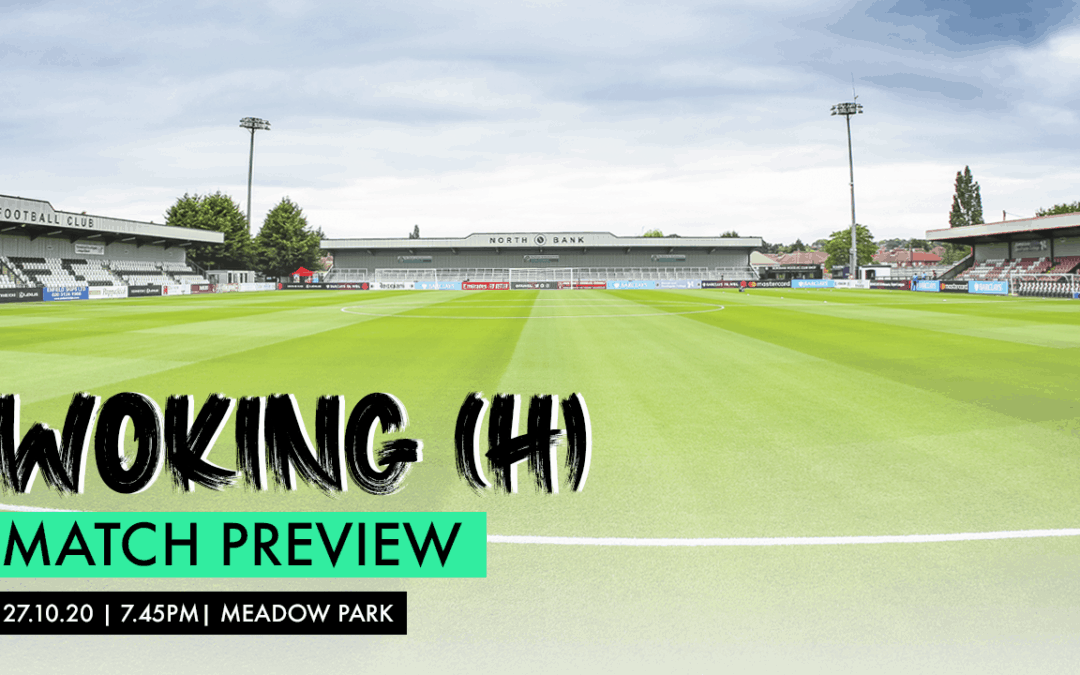 MATCH PREVIEW – WOKING (H)