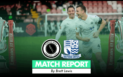 MATCH REPORT – SOUTHEND UNITED (H)