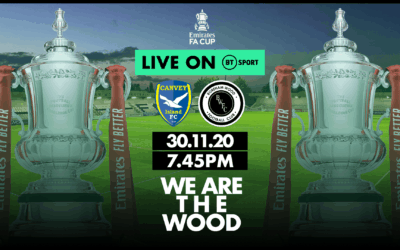 FA CUP TIE AGAINST CANVEY ISLAND SELECTED BY BT SPORT