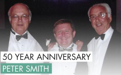50 YEAR ANNIVERSARY – PETER SMITH