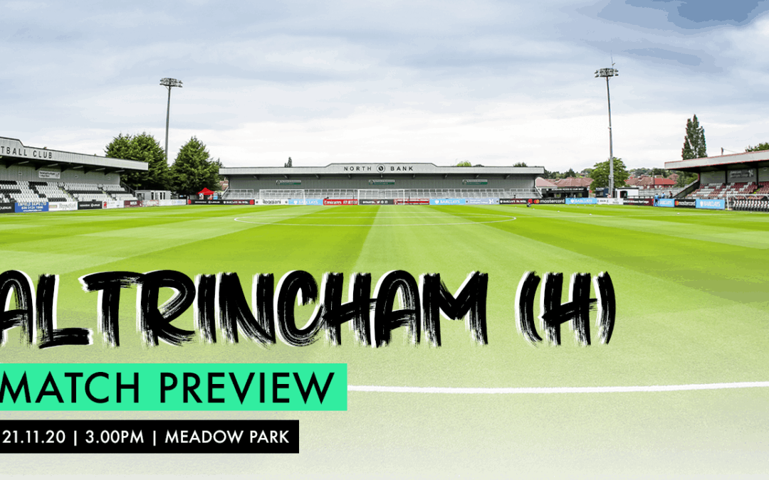MATCH PREVIEW – ALTRINCHAM (H)
