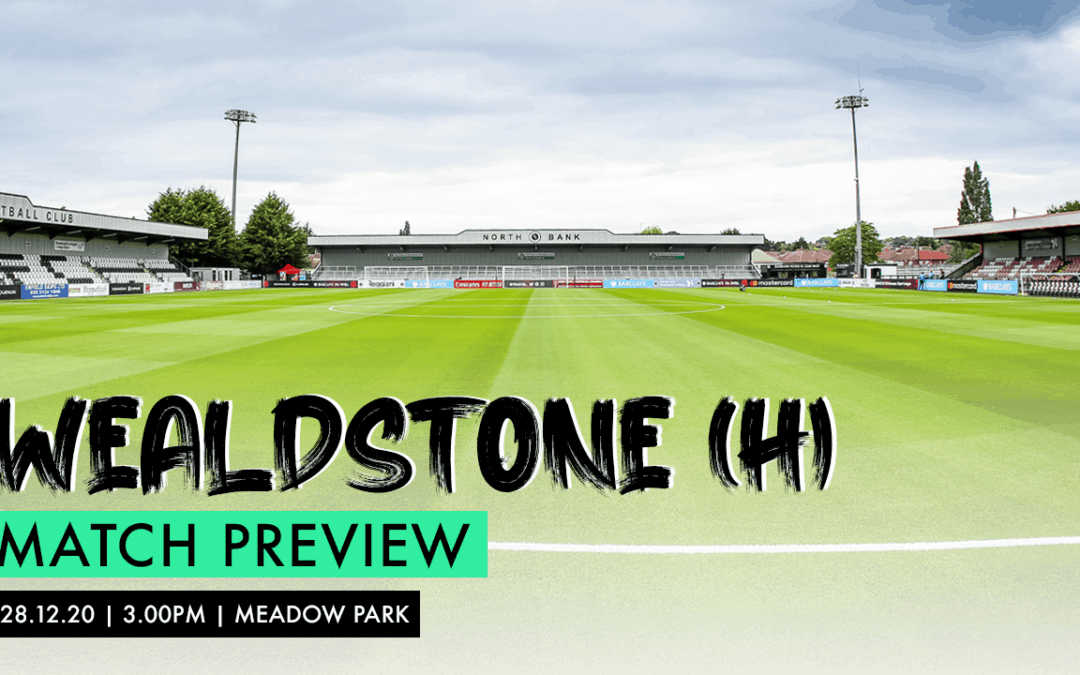 MATCH PREVIEW – WEALDSTONE (H)