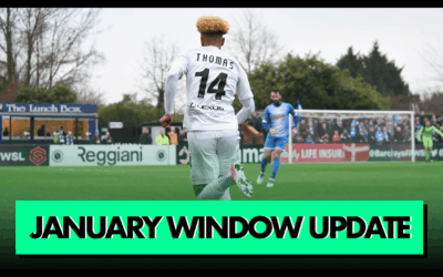 JANUARY WINDOW UPDATE