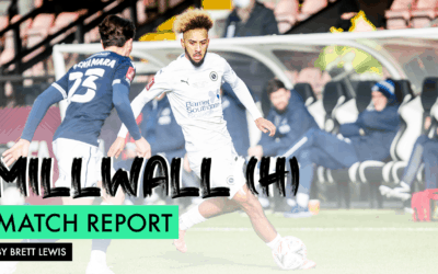 MATCH REPORT – MILLWALL (H)