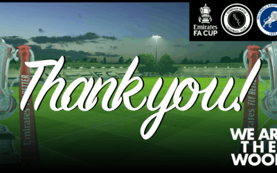 OUR CLOSING MESSAGE ON OUR FA CUP JOURNEY